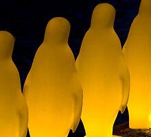 Penguins in Prague by Steve Thomas