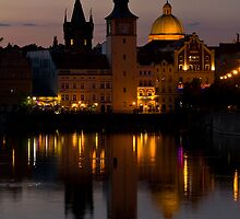 Towers of Praha by Steve Thomas