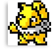 Pokemon 8-Bit Pixel Hypno 097 Canvas Print