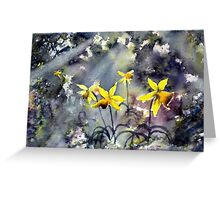 Daffodils of Hope Greeting Card