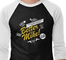 Better like Mike V02 Bumble version Men's Baseball ¾ T-Shirt
