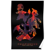 Full Fire Red Poster