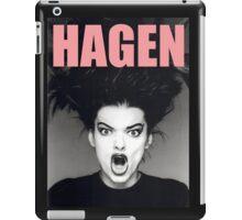 Nina Hagen iPad Case/Skin