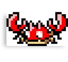 Pokemon 8-Bit Pixel Krabby 098 Canvas Print