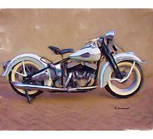 45' Harley Davidson Photographic Print