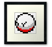Pokemon 8-Bit Pixel Electrode 101 Framed Print