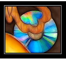 DVD Art Piece Photographic Print