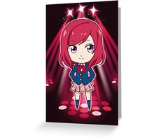 Love Live! - Maki Nishikino (chibi edit) Greeting Card