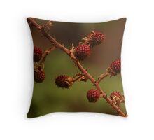 Rubus Species Throw Pillow