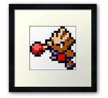 Pokemon 8-Bit Pixel Hitmonchan 107 Framed Print