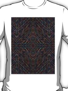 Triangles colorful abstract tribal pattern T-Shirt
