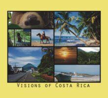 Visions of Costa Rica Kids Tee