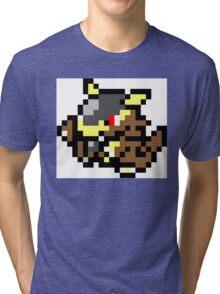 Pokemon 8-Bit Pixel Kangaskhan 115 Tri-blend T-Shirt