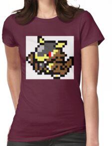 Pokemon 8-Bit Pixel Kangaskhan 115 Womens Fitted T-Shirt