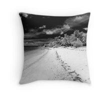 Virgin Islands Beach Throw Pillow