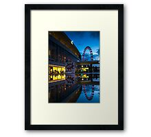 Oscillation - London Lights Framed Print