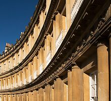 Queen's Circus, Bath by Paul Woloschuk