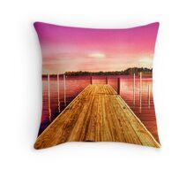 Pier V Throw Pillow