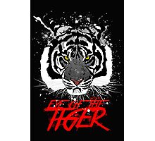 EYE OF THE TIGER - version BW Photographic Print