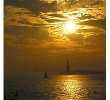 Liberty at Sunset Photographic Print