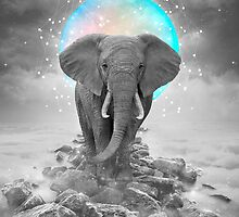Strength & Courage (Stand Alone Elephant) by soaringanchor