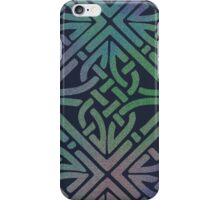 Midnight Celtic Knot Square iPhone Case/Skin