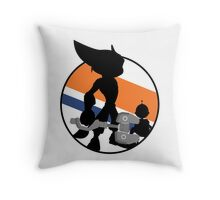 Ratchet & Clank Silhouette Throw Pillow
