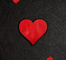 Ace of Hearts Leather by heliconista