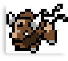Pokemon 8-Bit Pixel Taurus 128 Canvas Print
