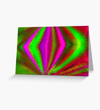 Multi Colored Eggbeater Greeting Card