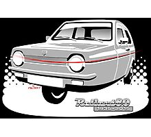 Reliant Robin saloon anniversary Photographic Print
