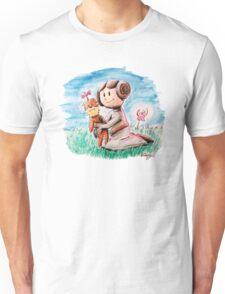 Princess Leia and Wookiee Doll Chewbacca STAR WARS fan art Unisex T-Shirt