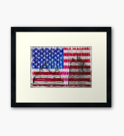 Old Glory Art Framed Print