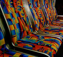 Bus Seats by Annie Wood