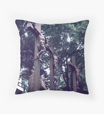 Stations of the Cross (2) Throw Pillow