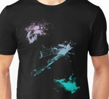 color splash pink-lightblue Unisex T-Shirt