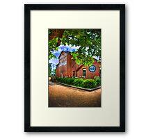 Murray (Billsons) Brewery, Beechworth Framed Print