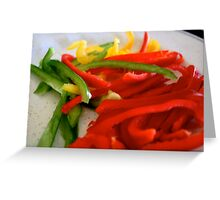:::peppers::: Greeting Card