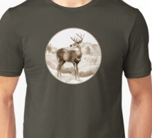 White-tailed Stag Sniffing the Air Unisex T-Shirt