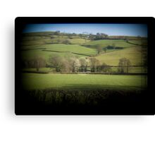 Fields Through the Viewfinder Canvas Print