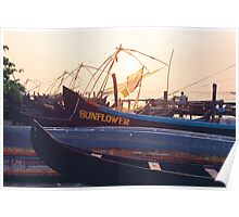 Fort Cochin Fishing Nets Poster