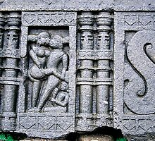 Erotic Stone Carving by Gavri
