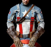 Michael Mulligan as Captain America (Photography by Misty Autumn Imagery) by mostdecentthing