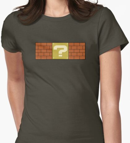 ? Womens Fitted T-Shirt