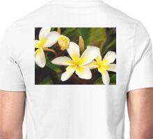 Plumeria Celadine Quad Unisex T-Shirt