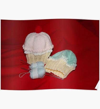 Cupcake Hats Poster