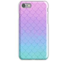 Pastel Mermaid  iPhone Case/Skin