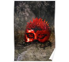 Red Masque Poster