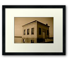Scituate Reservoir Water Pumping Station #1 Framed Print