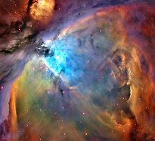 Orion Nebula Space Galaxy  by sandyspider